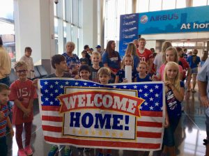 KHF Welcome Home Banner