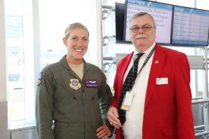 Kansas Honor Flight Female Veteran