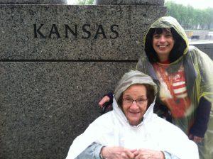 Female Veterans WWII Memorial Kansas