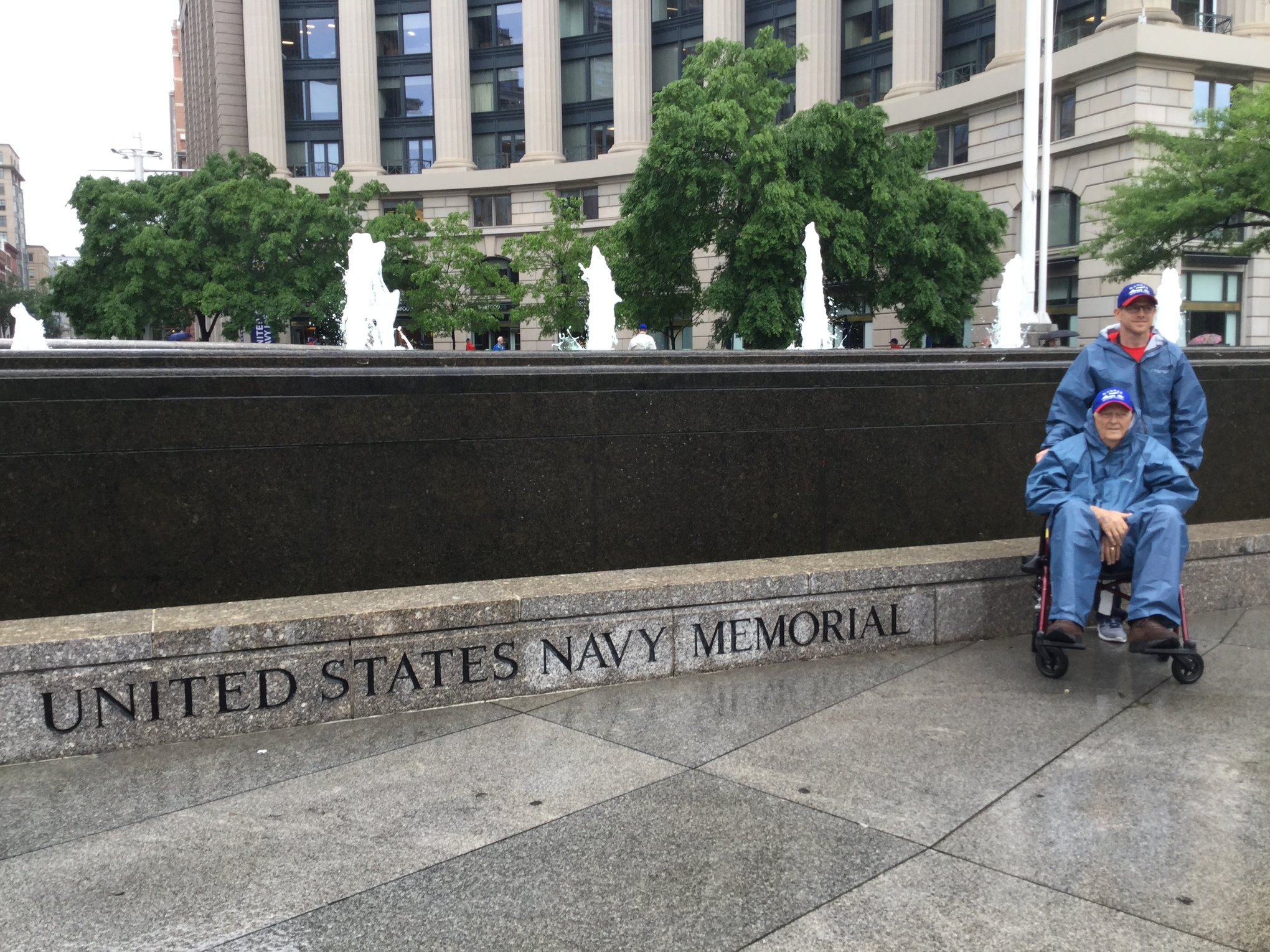 Kansas Veterans at the United States Navy Memorial
