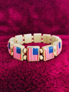 KHF Patriotic Wristband US Flags