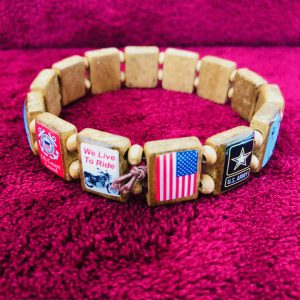 KHF Patriotic Wristbands Large