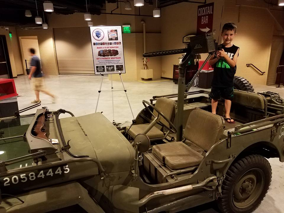 Kansas Honor Flight Military Vehicles