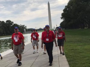 Kansas Honor Flight Veterans Washington Memorial