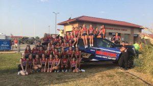 Maize HS Cheerleaders KHF 1