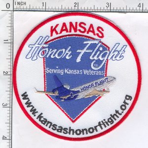 Kansas Honor Flight Patch