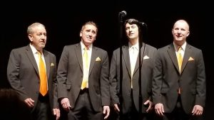 Riverside Rhythm Barbershop Quartet Sings at Kansas Honor Flight Golf Tournament Fundraiser