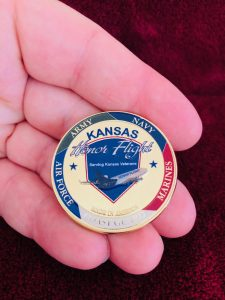 KHF Challenge Coin Hand Front