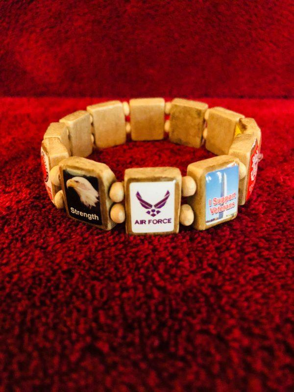 KHF Patriotic Wristbands Small or Medium