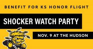 Shocker Watch Party Kansas Honor Flight Fundraiser
