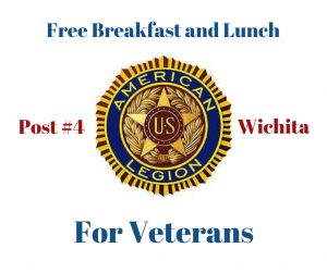 Free Breakfast and Lunch for Kansas Veterans