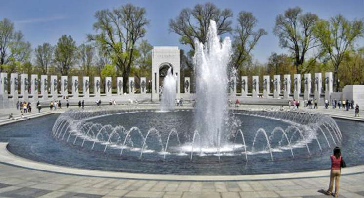 World War II Memorial in Washington DC