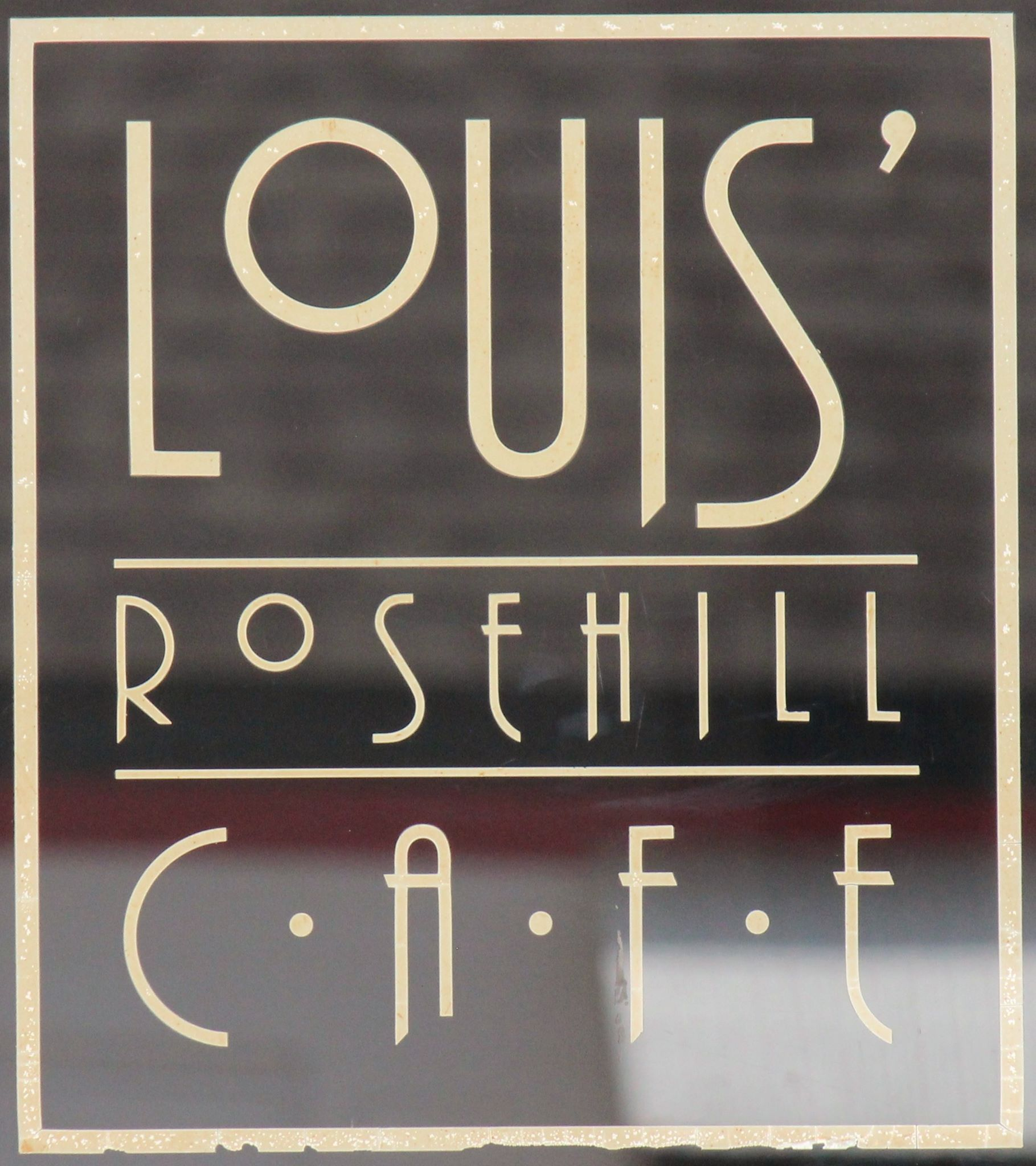 Louis Rose Hill Cafe 107 S Rose Hill Rd Rose Hill, Kansas 67133