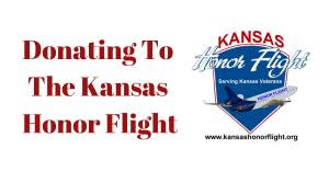 Donating To The Kansas Honor Flight