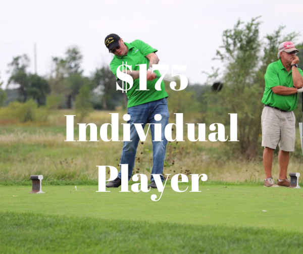Individual Player Golf Tournament Product Image