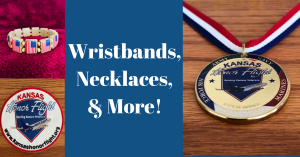 Wristbands Necklaces and More From The Kansas Honor Flight Catalog Store