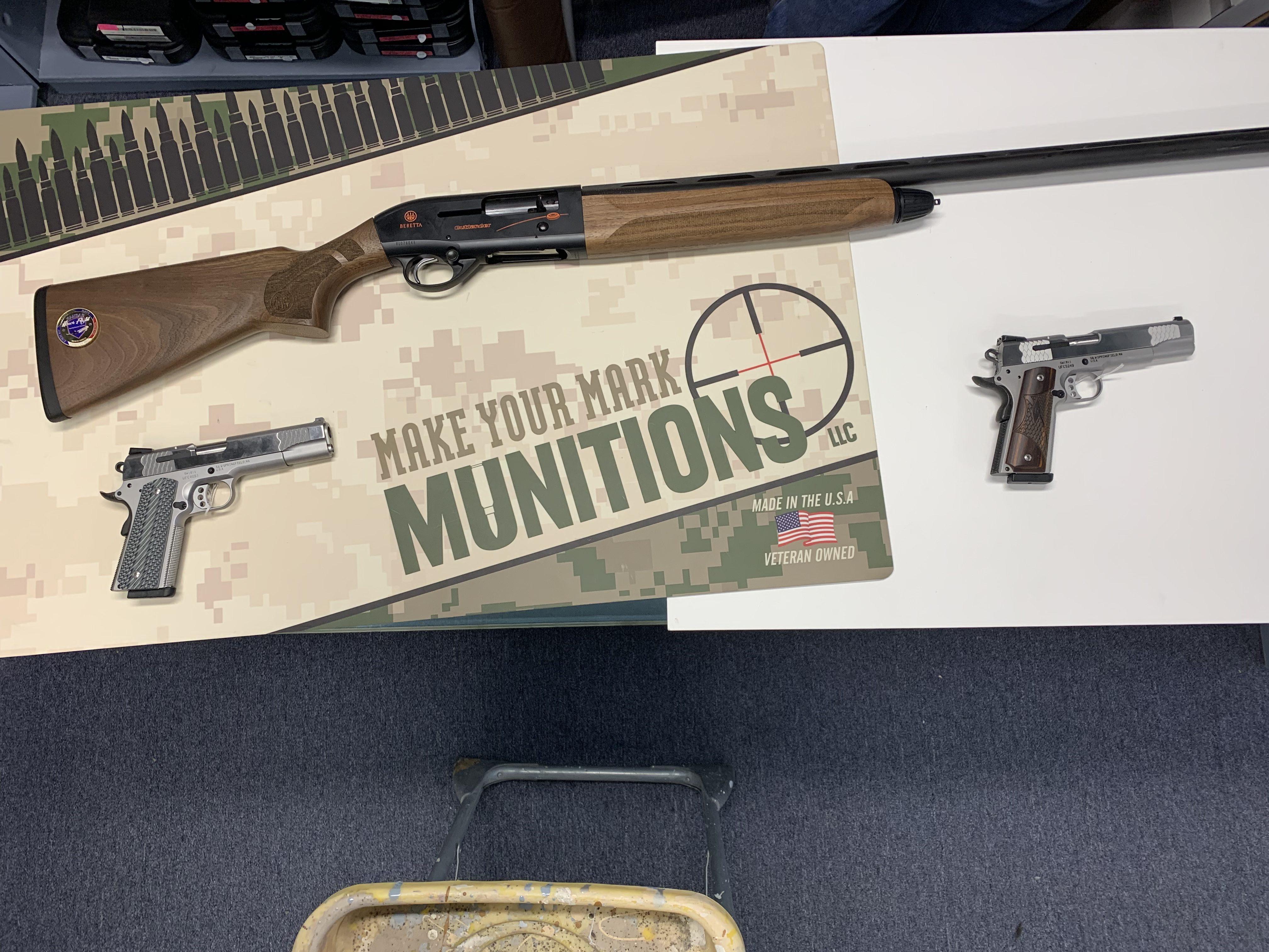 Beretta A300 Outlander Sporting Shotgun to be raffled off during golf tournament fundraiser.