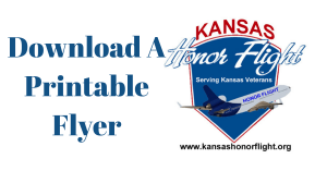 Download A Printable Kansas Honor Flight Flyer