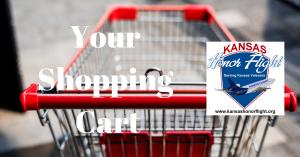 Kansas Honor Flight Catalog Store Shopping Cart