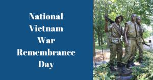 National Vietnam War Remembrance Day Facebook