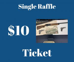 Single Shotgun Raffle Ticket