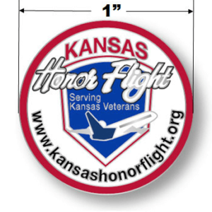 Kansas Honor Flight Lapel Pin