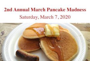 2nd Annual March Pancake Madness