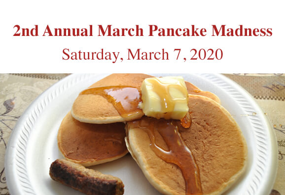 2nd Annual March Pancake Madness