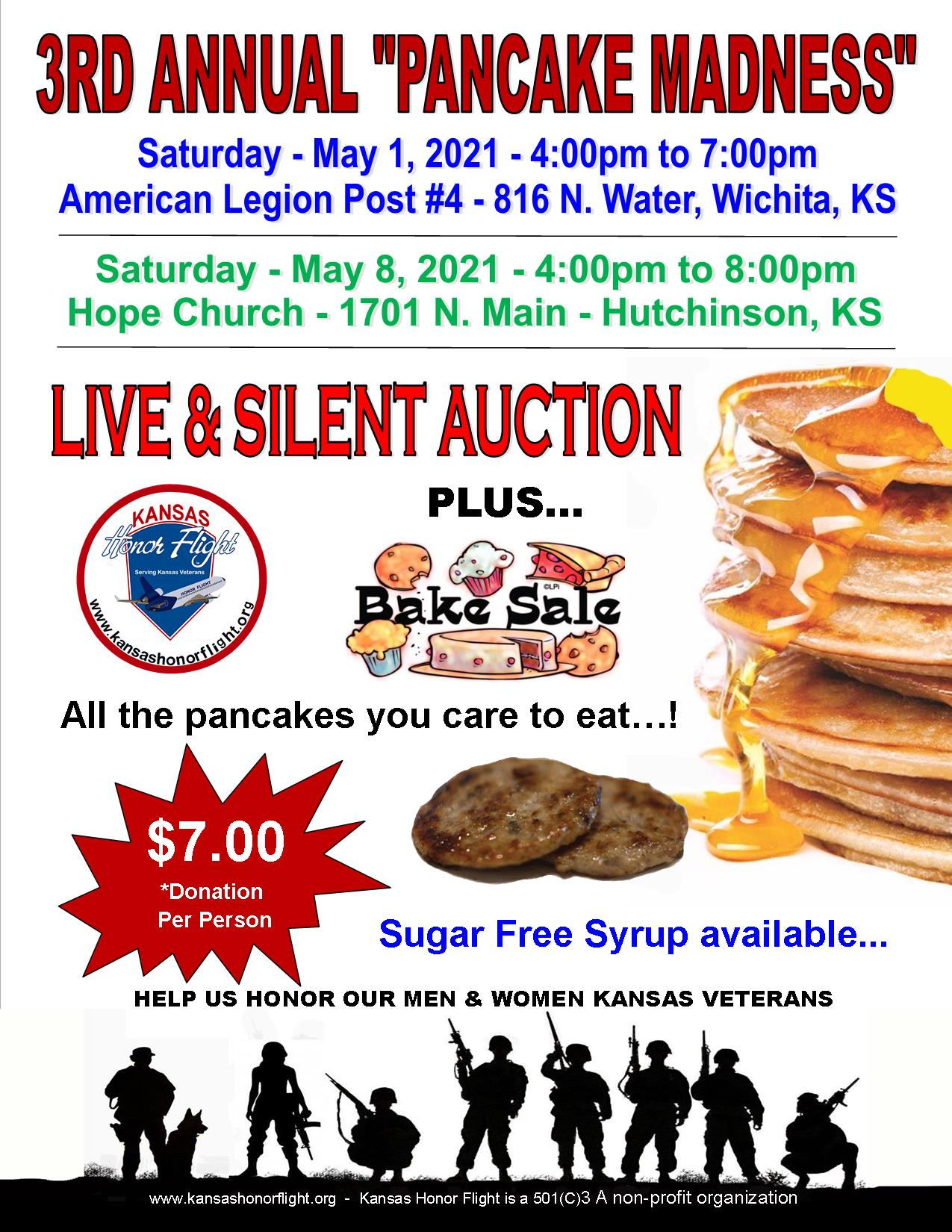 3rd Annual 'Pancake Madness'